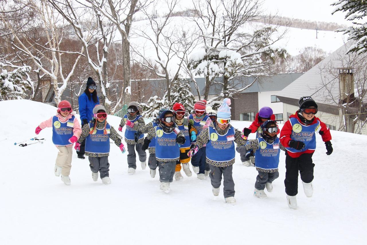 雪上競争!
